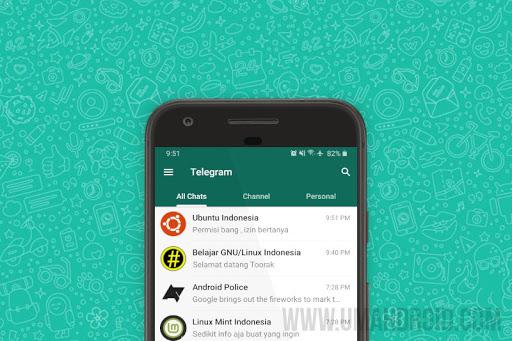 Download Tema Telegram WhatsApp