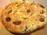 Torta de higos secos, nueces y anisetes