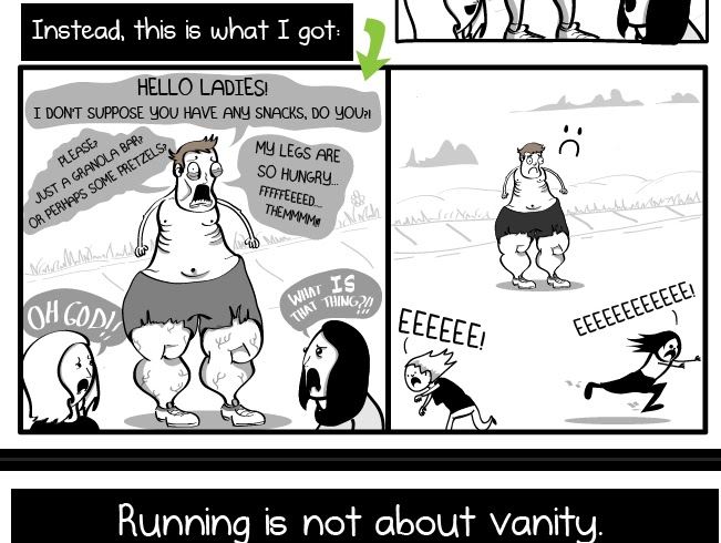 Image result for the oatmeal running body