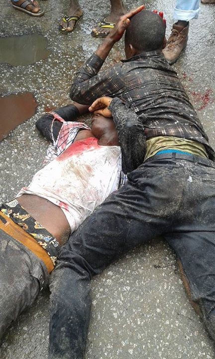 Graphic Pics, See What They Did To Car Thieves In PH