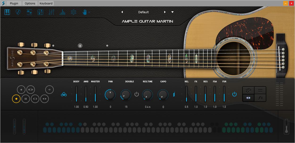 Violão Virtual - Ample Guitar