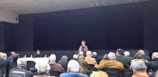 Όλγα Γεροβασίλη στην ανοιχτή πολιτική εκδήλωση στην Καισαριανή: Ο μετασχηματισμός του ΣΥΡΙΖΑ είναι κοινωνικό αίτημα