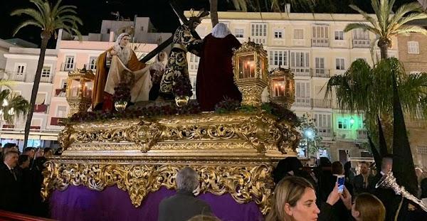 Horario e itinerario Vía Crucis Oficial de Hermandades de Cádiz