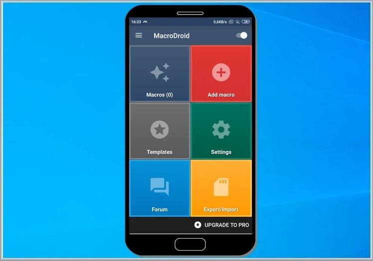 MacroDroid - Device Automation : Αυτοματοποιήσετε τις  εργασίες σας στο  smartphone ή στο tablet σας