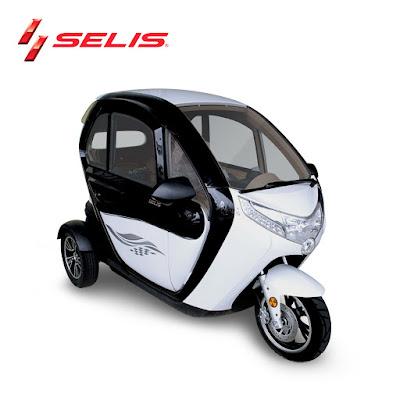 Spesifikasi Dan Harga  Motor Listrik Roda 3 Selis New Balis