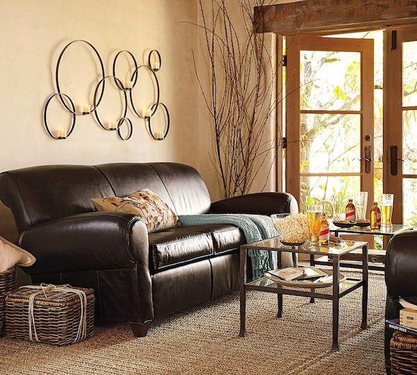 sala decorada colores neutros