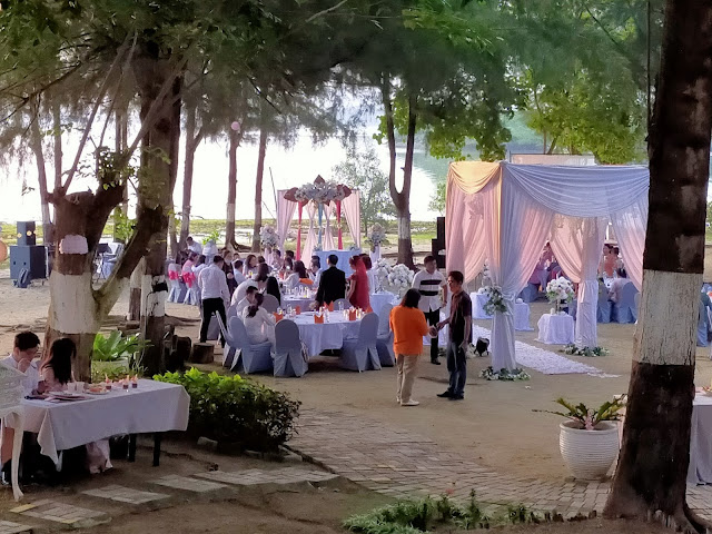 Wedding di Harris Resort Waterfront