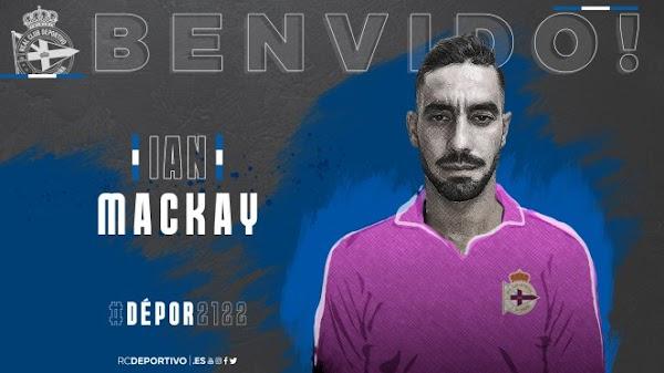 Oficial: Deportivo de la Coruña, regresa Ian Mackay