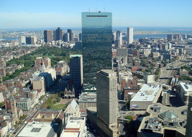 John Hancock - Tòa nhà độc đáo ở Boston