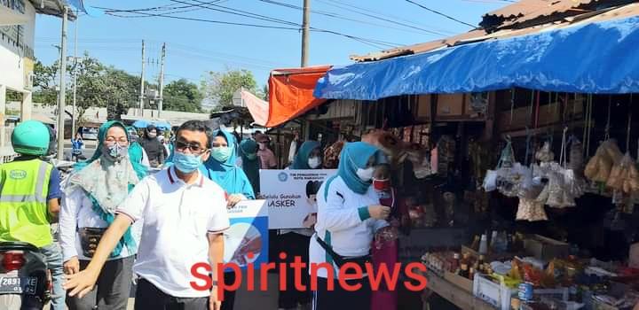 15 Kecamatan se Kota Makassar Kembali Serentak Melakukan Edukasi Protokoler Kesehatan Pada Masyarakat