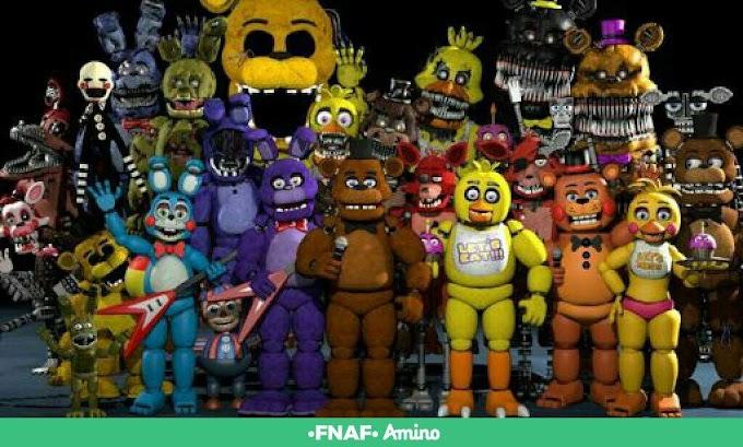 Qual é o nome dos animatronics?