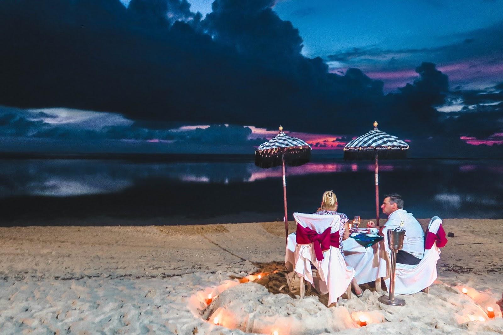 Bali Indonesia Romantic Dinners