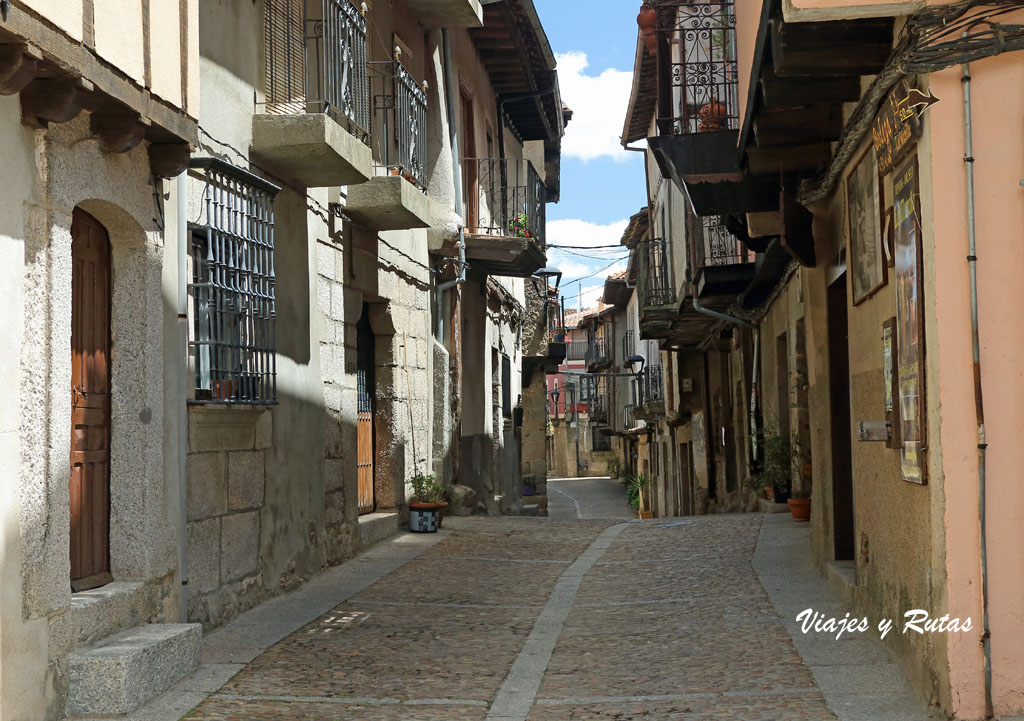 Calle derecha, Miranda del Castañar