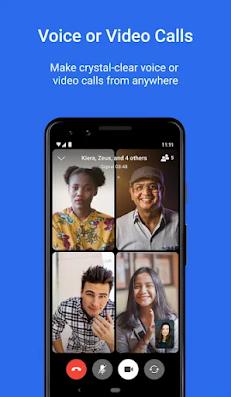 Screenshot Signal Private Messenger