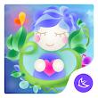 Dream Green Plant Nature--APUS Launcher theme