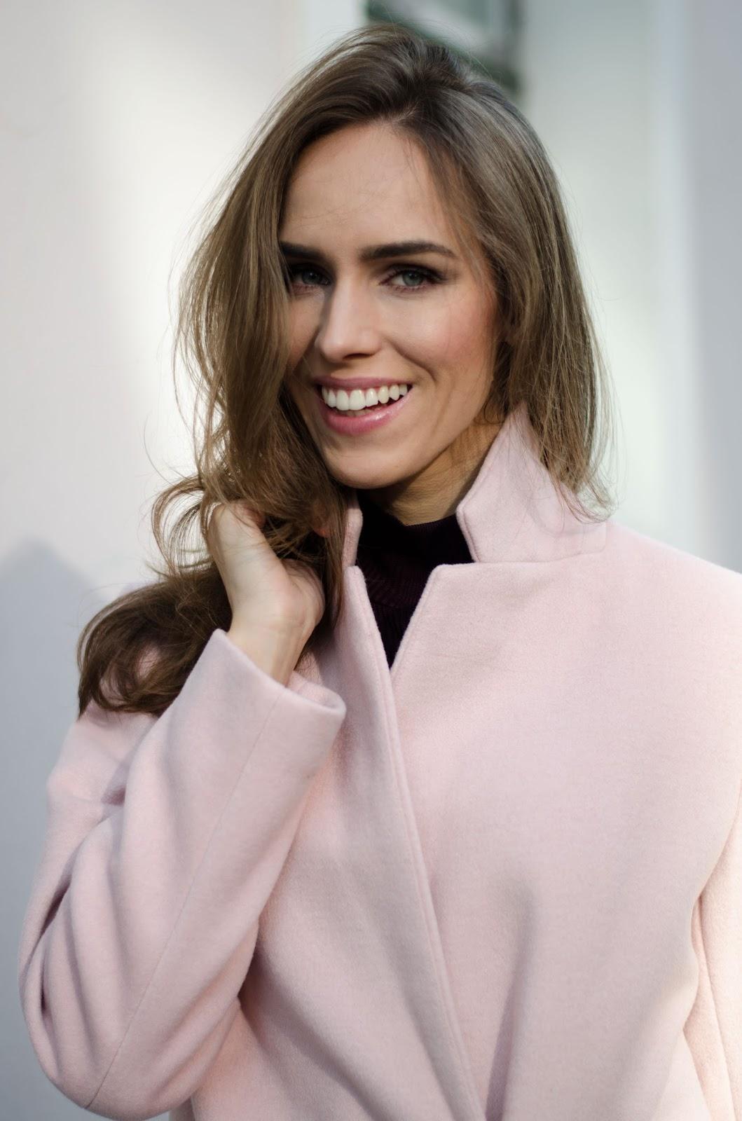 lindex pink coat