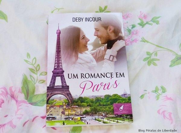 Resenha, livro, Um-romance-em-paris, Deby-Incour, Editora-Angel, romance, fotos, opiniao, critica, capa, trechos