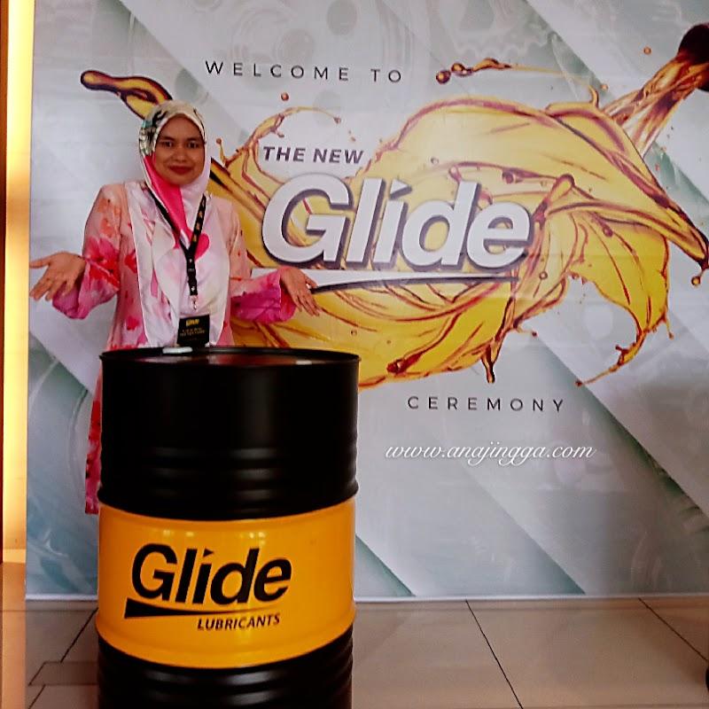 Inilah wajah baharu Glide Lubricants - Minyak Pelincir Produk Bumiputera