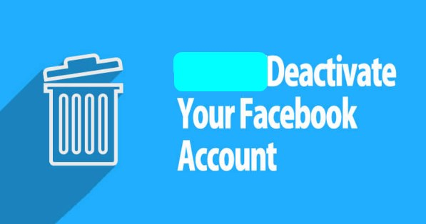 How to deactivate facebook account for good