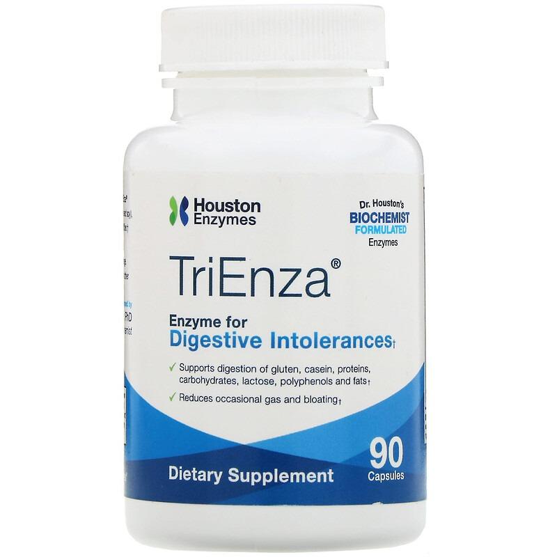 Houston Enzymes, TriEnza, 90 капсул