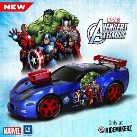 Ridemakerz: Avengers!