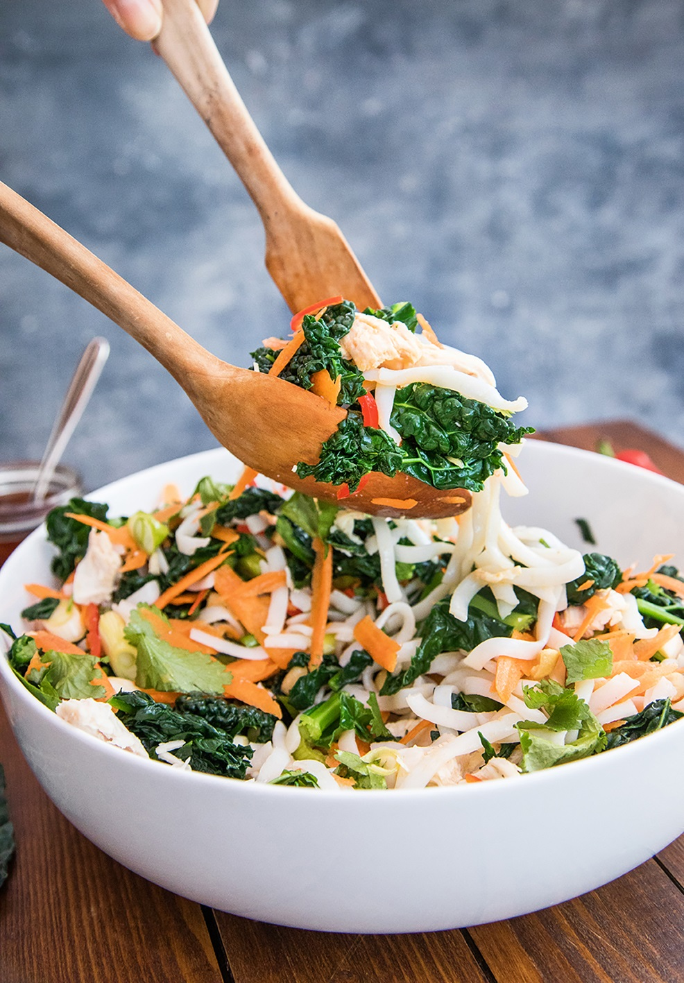 Asian Rice Noodle And Cavolo Nero Salad