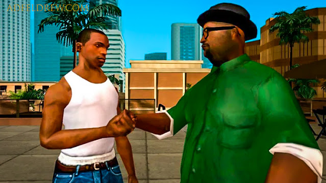 How Big Smock Beat all GTA Series through San Andreas | AdeelDrew