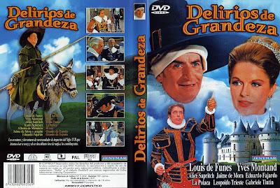 Carátulas dvd 2: Delirios de grandeza 1971