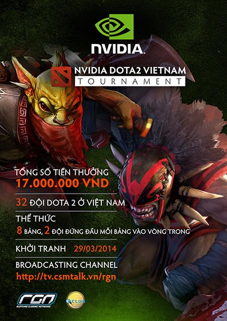 nvidia dota2 tour s1 - Điểm lại những giải đấu Dota 2 lớn từng được tổ chức tại Việt Nam (Phần 2)