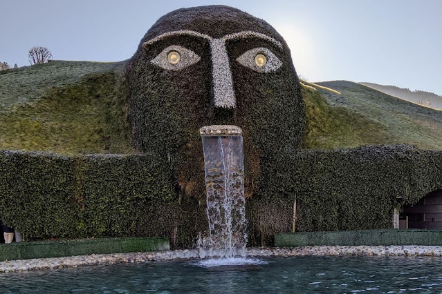 Visit the green giant at Swarovski Crystal World with an Innsbruck Card