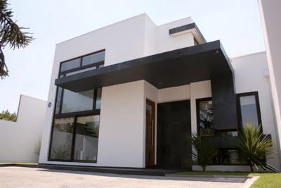 Construindo minha casa clean fachadas com esquadrias de pvc x alum nio x madeira - Ventana con persiana integrada ...