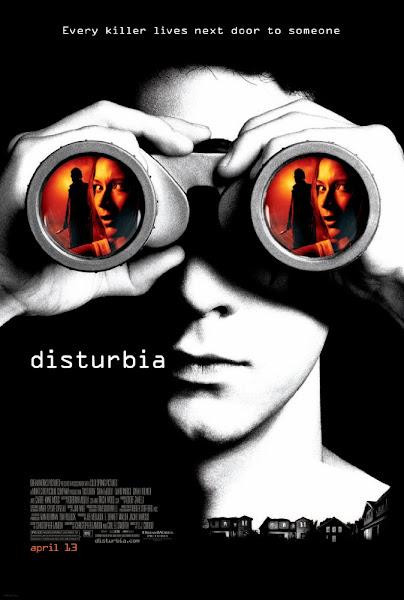 Poster Of Disturbia 2007 720p Hindi BRRip Dual Audio Full Movie Download