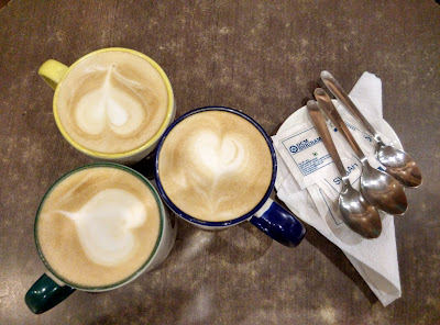 Our cups of cappuccino King