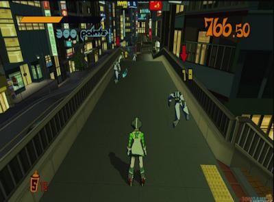 街頭塗鴉(Jet Set Radio HD),充滿自由創意的3D動作遊戲!