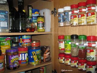 Pantry Cabinet Door Spice Rack Glipper Clips Strips