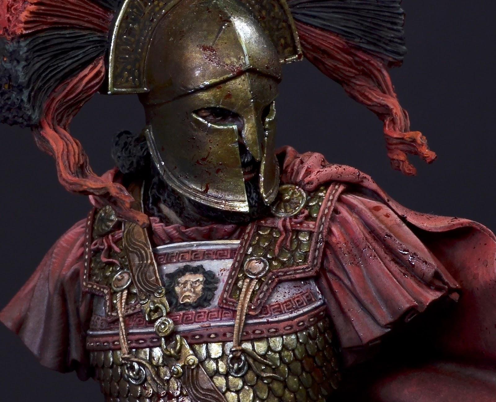 Spartan Warrior | planetFigure | Miniatures