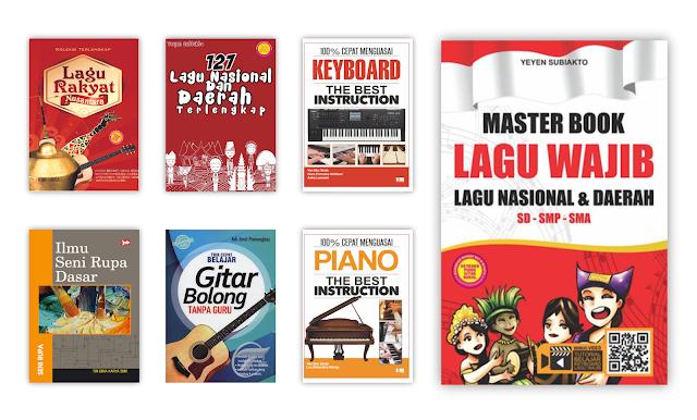 Buku Kesenian dan Musik Untuk Koleksi Perpustakaan Desa