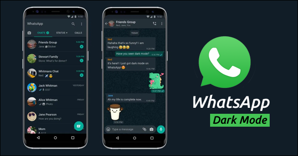 Whatsapp is the used by most people around the world to communicate. Their official announcement states that the Dark Mode was released following the request of more users.