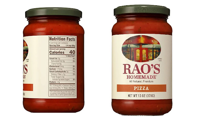 5- Raos Homemade Natural Pizza Sauce