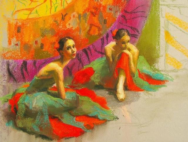 Anastasia Vostrezova, 1981 - Russian Artist