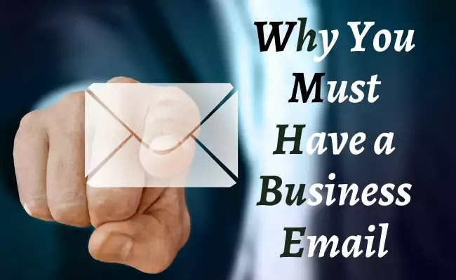 Why you need gmail business email