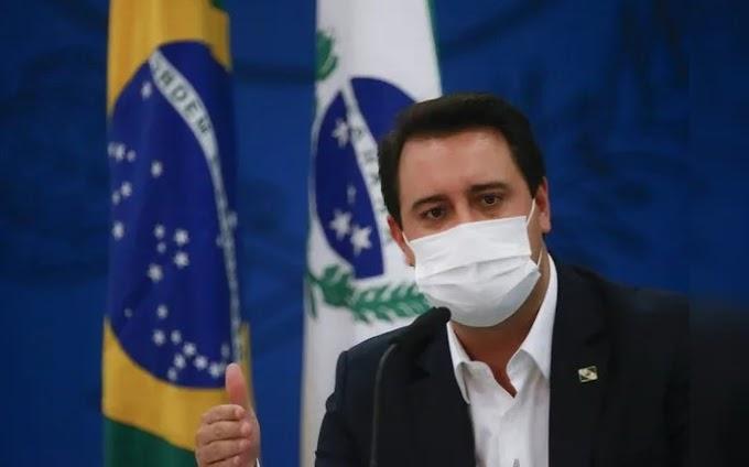 Governador Ratinho Junior teve celular clonado e pede cuidado