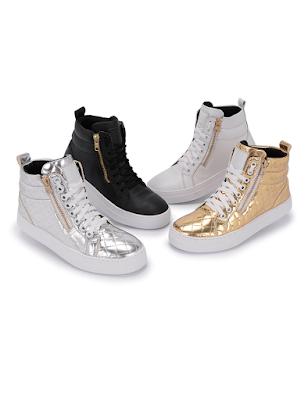 Botinha Sneaker Feminino De Zíper