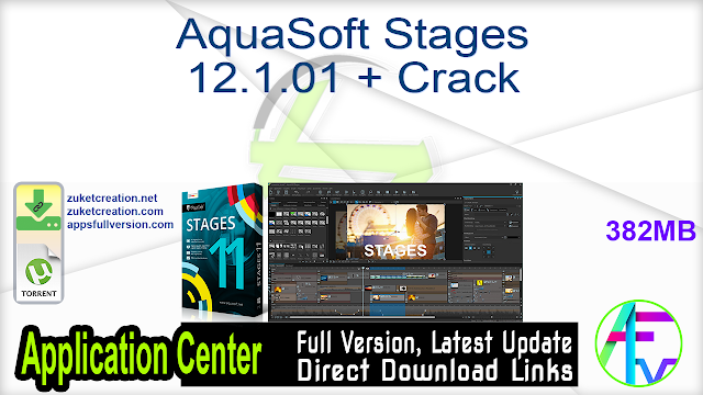 AquaSoft Stages 12.1.01 + Crack