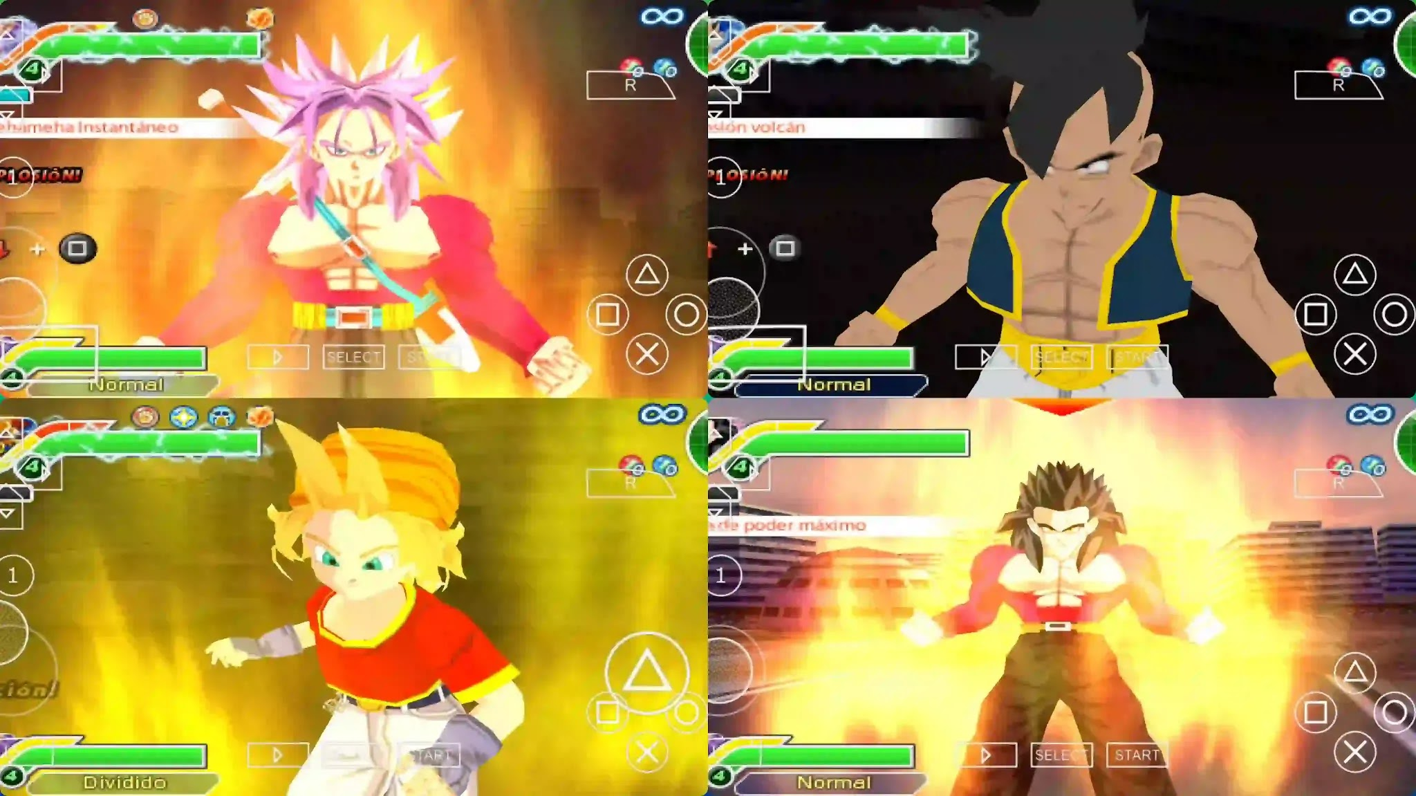 Dragon Ball GT PPSSPP ISO Download