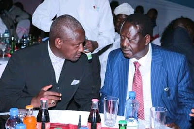 Raila Odinga in a party. PHOTO | BANA
