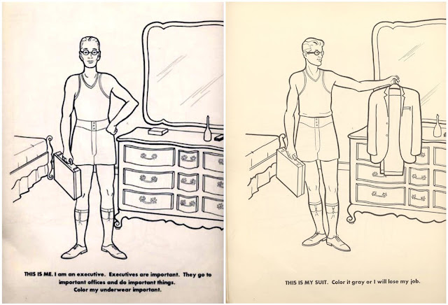 from: The Executive Coloring Book, 1961