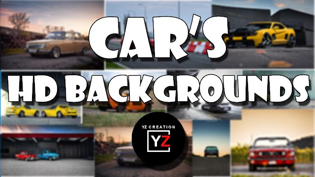 YZCREATION BACKGROUNDS | BACKGROUNDS | CARS