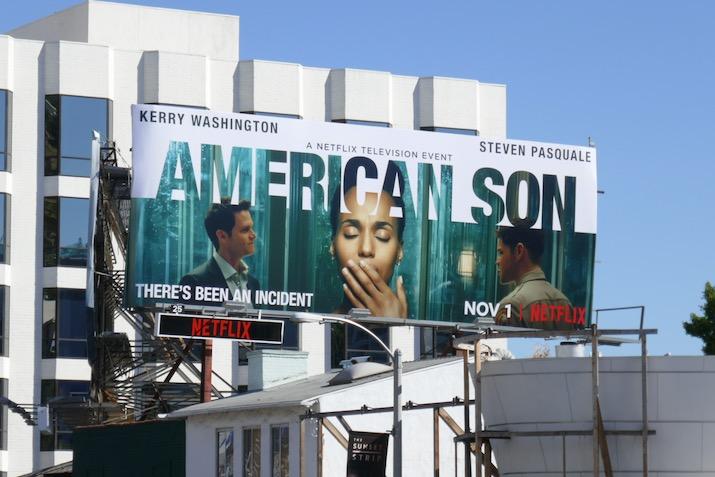 American Son television event billboard
