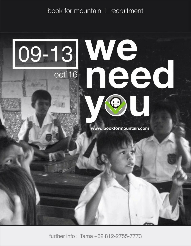 we love kids, we love books, we adore Indonesia